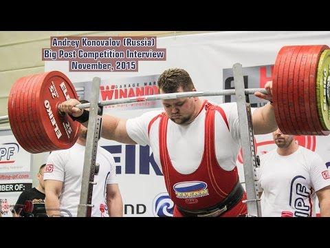 Andrey Konovalov (Russia). Big Post Competition Interview. November, 2015