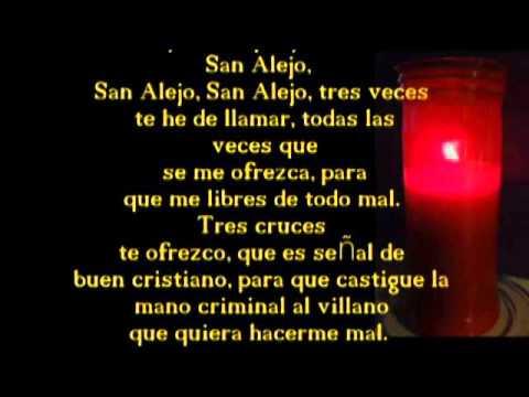 Oraci n a san alejo le n para alejar a quienes nos hacen - Como alejar a una persona mala ...