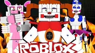 Roblox Adventures / FNAF BABY'S TRAP ?! / FNAF Sister Location