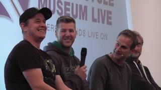 MUSEUM LIVE WITH JAMES WHITHAM,CARL FOGARTY,JOHN MCGUINNESS AND IAN HUTCHINSON