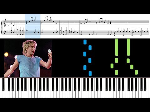 Forever Young (Rod Stewart) - Piano Tutorial + Sheets