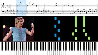 How to play forever young by rod stewart on piano. sheet music is included in this piano tutorial. all tutorials ➜ http://bit.ly/2zlb8wy re...