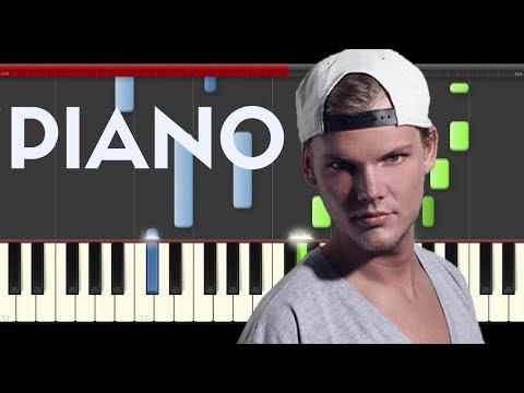 Avicii  Friend Of Mine  ft. Vargas & Lagola Piano Midi tutorial Sheet app Cover Karaoke