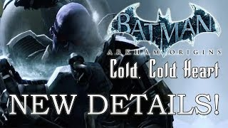 "Batman: Arkham Origins | ""Cold, Cold Heart"" DLC Gameplay & Details (Batsuit, Gadgets, & More)"