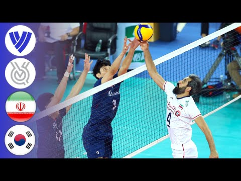 IRI Vs. KOR - Full Match | AVC Men's Tokyo Volleyball Qualification 2020