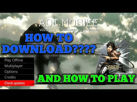 HOW TO INSTALL AOT MOBILE FAN GAME