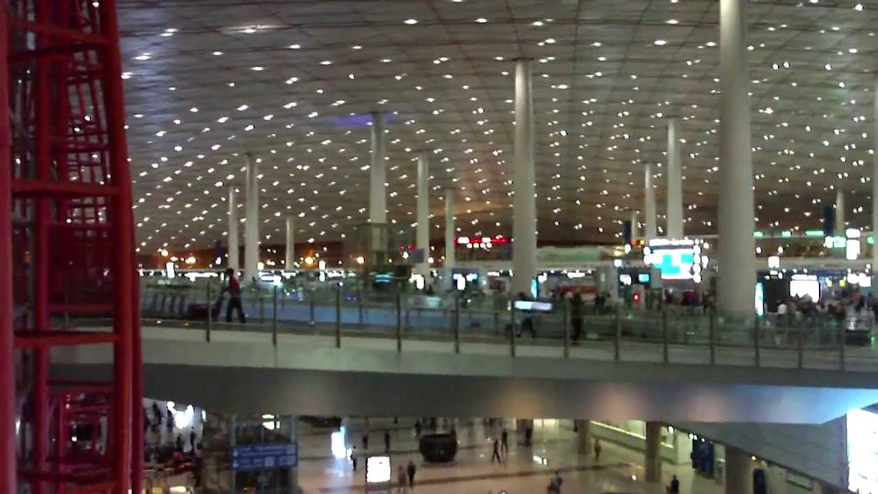 BEIJING CAPITAL AIRPORT Terminal 3 YouTube