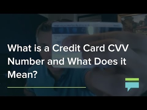 What's The Credit Card CVV Number and What Does It Mean? - Credit Card Insider