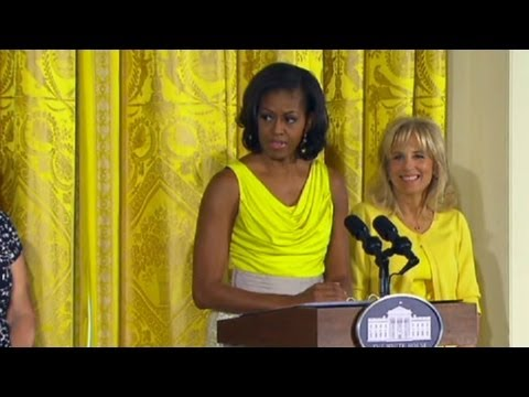 Michelle Obama: I'd trade places with Beyonce