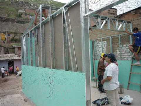 Drywall peru casa de drywall esperanza 3 parte 2 - Construcciones de casas ...