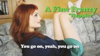 Video for fine frenzy happier
