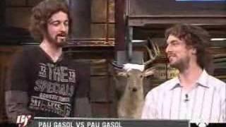 Buenafuente - Pau Gasol vs Pau Gasol thumbnail