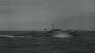 Schnellboot - german torpedo boat in action