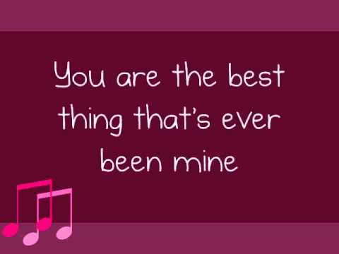Taylor Swift- Mine (Lyrics)