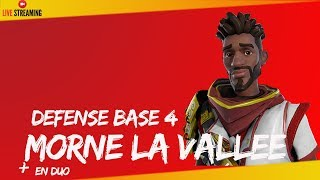 "FORTNITE DEFENSEBOUCLIER ANTI STORM MORNE THE VALLEY 4 LIVE -""SAUVER THE WORLD""-PS4 720P EN"