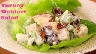 Clean Eating Leftover Turkey Waldorf Salad