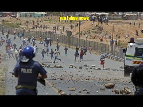 Haiti tranble jodia Baz gang G9 kontre ak baz gang Belè anpil pran bal apremidia ann gade