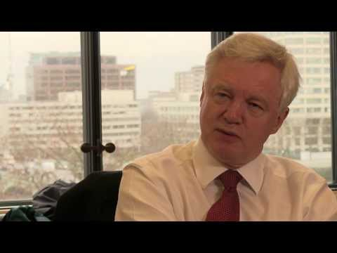 David Davis MP Interview