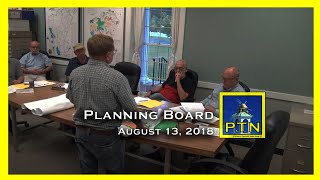 Pembroke Planning Board discusses property development.