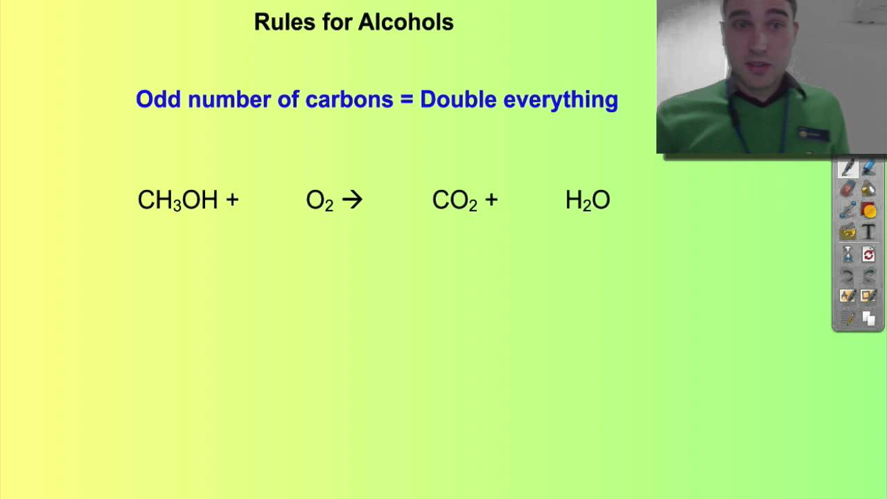 chemistry coursework combustion of alcohols Chemical and physical characteristics of ethanol and hydrocarbon fuels activity 21—definitions ig 2 - 3 activity 21—definitions purpose to allow participants to identify the definitions related to ethanol.