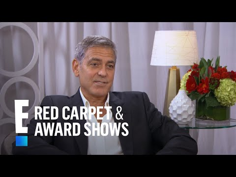 George Clooney Wants to Teach His Kids What Wild Prank?!   E! Live from the Red Carpet
