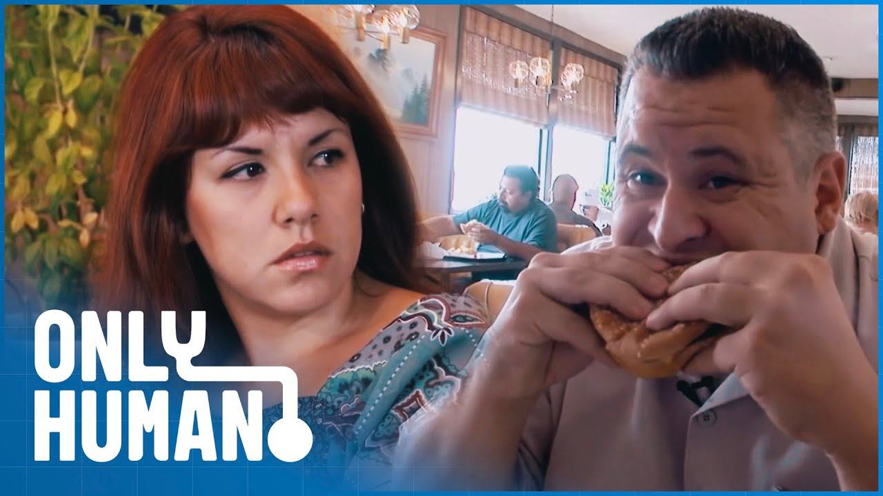 Cheese Burger Addict DESPERATE To Save His Marriage | Freaky Eaters | Only Human