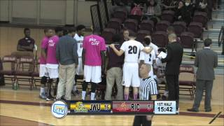 RIC Men's Basketball vs JWU 12-08-15