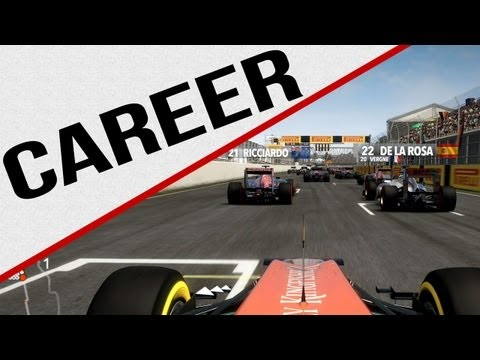 F1 2012 - Career - 24th to ??? - Montreal