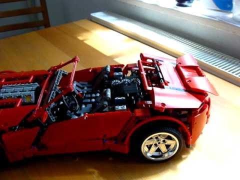 lego technic 8070 cabriolet full motorized 01 youtube. Black Bedroom Furniture Sets. Home Design Ideas