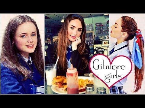 Rory Gilmore Fresh Makeup & Easy School Hairstyles Gilmore Girls Tutorial