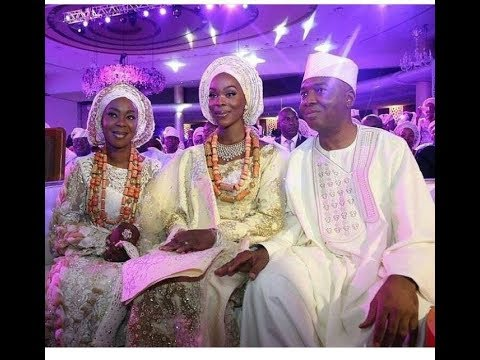 Wedding Ceremony of Nigerian Senate President Saraki's Daughter Lasts For Months