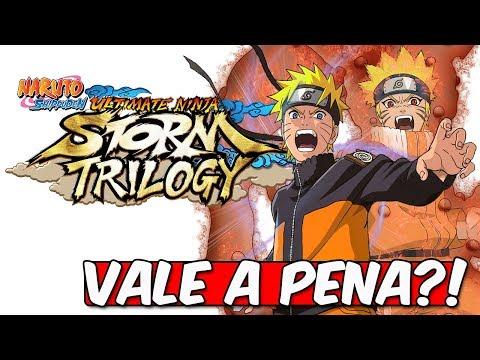 NARUTO STORM TRILOGY - VALE A PENA?! (ANÁLISE)