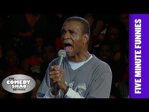 Tommy Davidson⎢Spanish TV⎢Shaq's Five Minute Funnies⎢Comedy Shaq