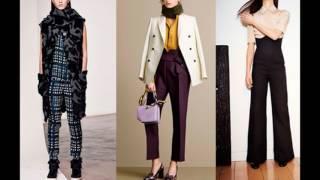 видео Модные брюки 2018-2019: фото модных брюк, модные тенденции брюк для женщин