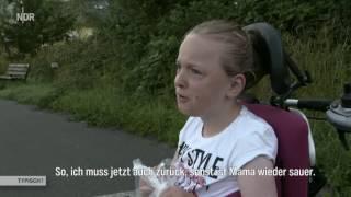 Typisch! Emilia Vom Rollstuhl auf das Pferd