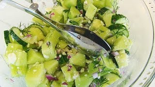 Betty's Honeydew And Cucumber Salad