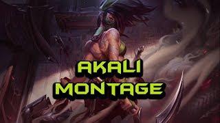 Rework Akali Montage - Best Akali Plays | League Of Legends