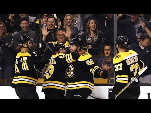 Boston Bruins 2017-18 Season Highlights (So Far)