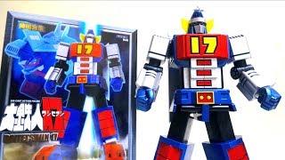 この動画は『Robotkingdom.com』様の提供でお送りします→https://goo.gl/eZQYTx アクショントイズという海外のメーカーから待望の大鉄人17の合金玩具が発...