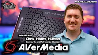 Christopher Huston of AverMedia Interview: The Gaming Industry, Content Creation & Sponsorships