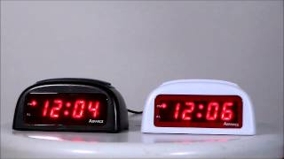 Advance 3137 & 3138 Electric Alarm Clocks w/ Loud & Soft Alarm Setting