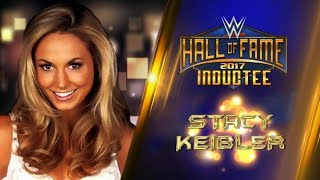 Stacy Keibler joins the WWE Hall of Fame Class of 2017 - Custom