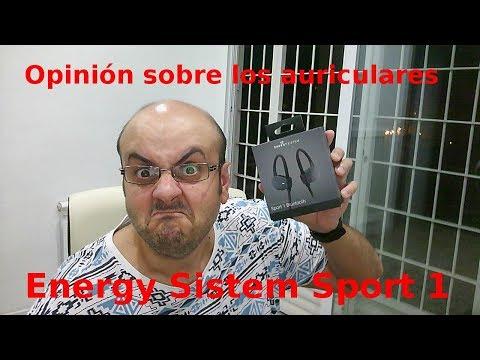 Opinión sobre los auriculares Energy Sistem Sport 1 Bluetooth