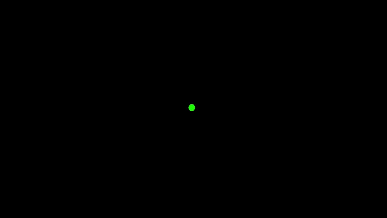Green Dot (on black background) - YouTube for Ufo Black Background  111ane