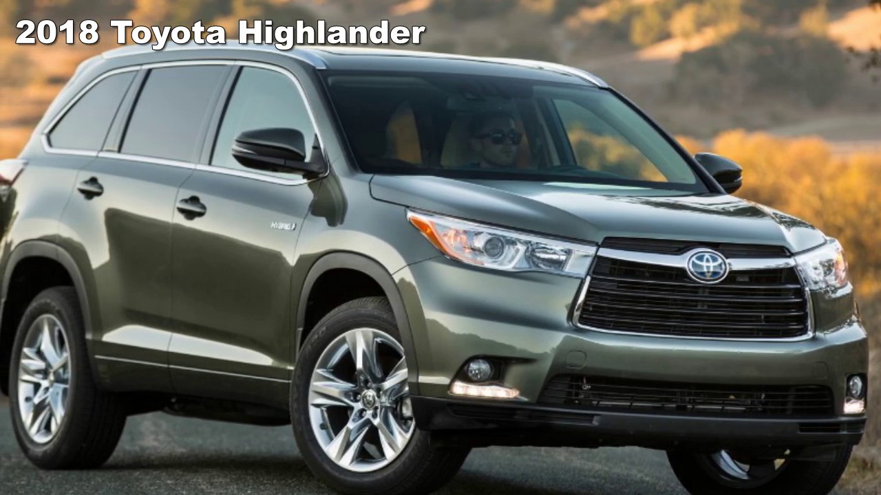 2018 toyota highlander limited. unique 2018 on 2018 toyota highlander limited