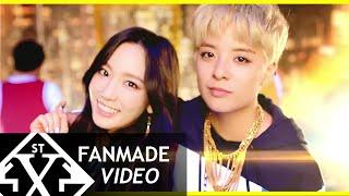 Shake That Brass Remix - f(x)'s Amber ft. SNSD's Taeyeon [by i5scream][FMV]
