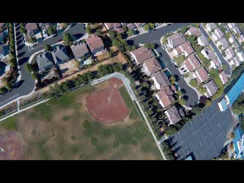 drone footage 4k suburbia