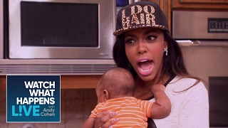 Miss Lawrence & Derek J Spill The Tea | Kenya's Daddy & Porsha's New House | WWHL