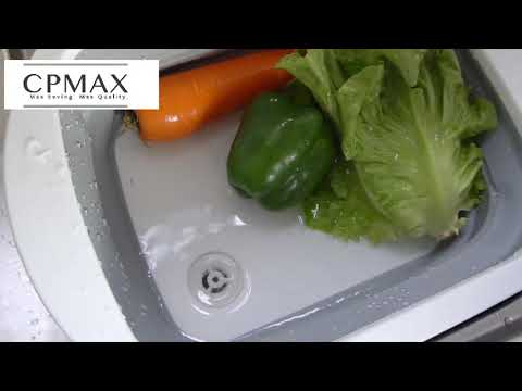 CPMAX 多功能折疊砧板 菜板 切菜板 切肉板 方便攜帶折疊瀝水籃 洗菜盆 可折疊砧板水槽 洗菜籃 砧板【H239】
