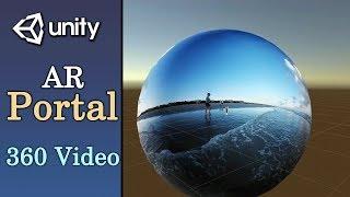 Birlik ile AR Portal Öğretici - 360 Video